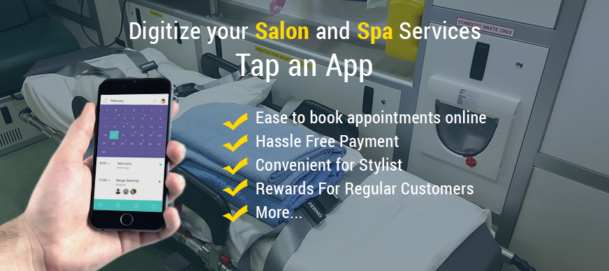 Digitize your Salon and Spa Services- Tap an App