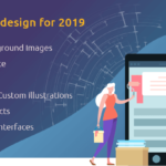 Mobile App UI design for 2019