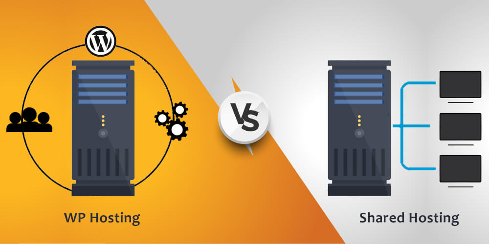 Difference between Managed WP Hosting and Shared Hosting
