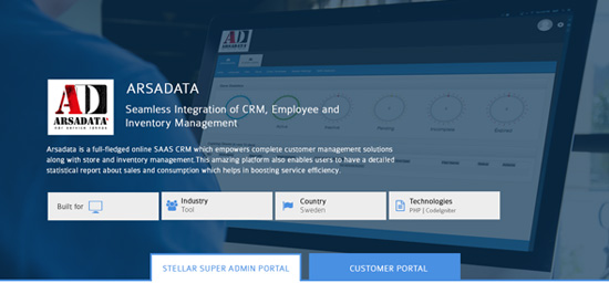 SaaS - CRM Application for Repair Shop